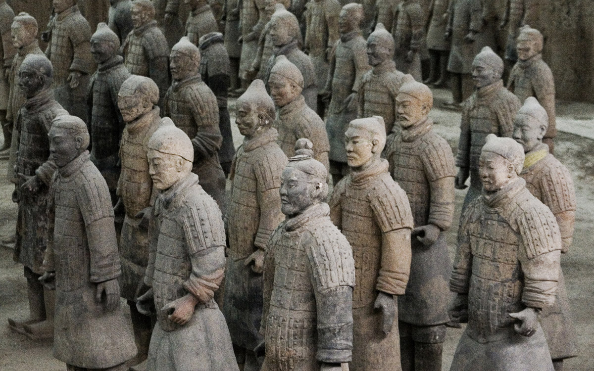 Xian, Terracotta warriors